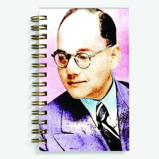 Netaji Bose - Spiral Diary (Paperback)183 sheets 70 GSM Matte Art Paper Amazing to giftfor all occasionsby Unique Indian Crafts