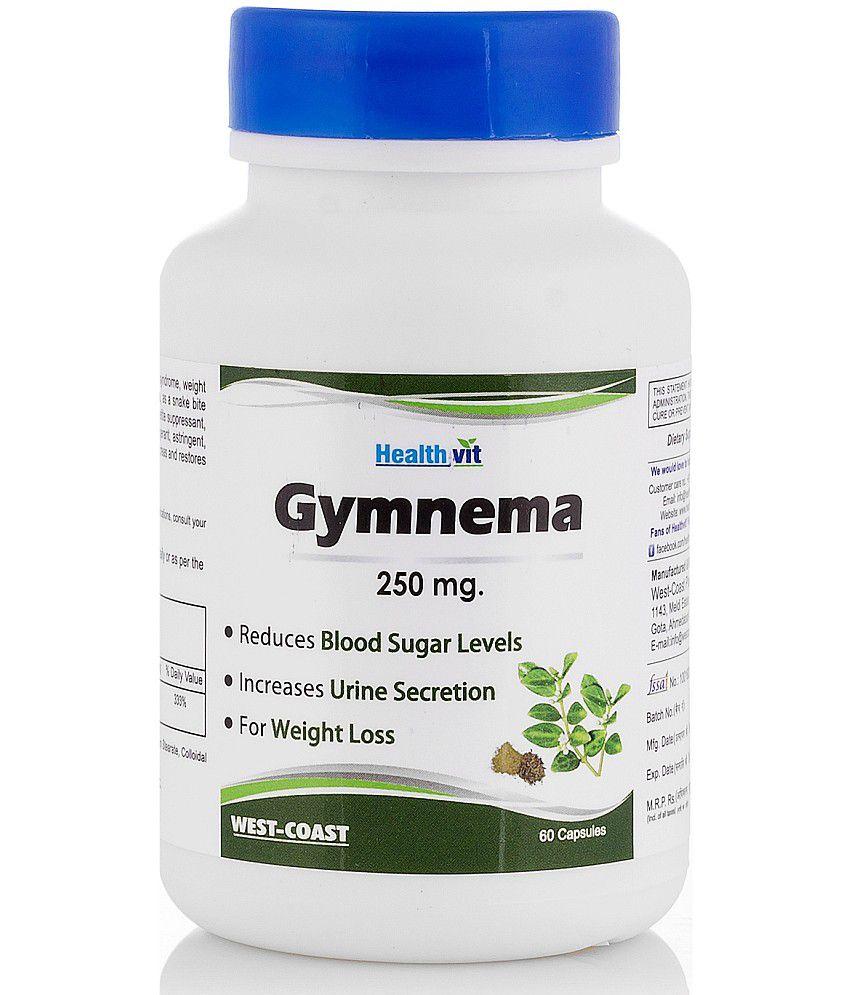 Healthvit Gymnema Powder 250 mg 60 Capsules