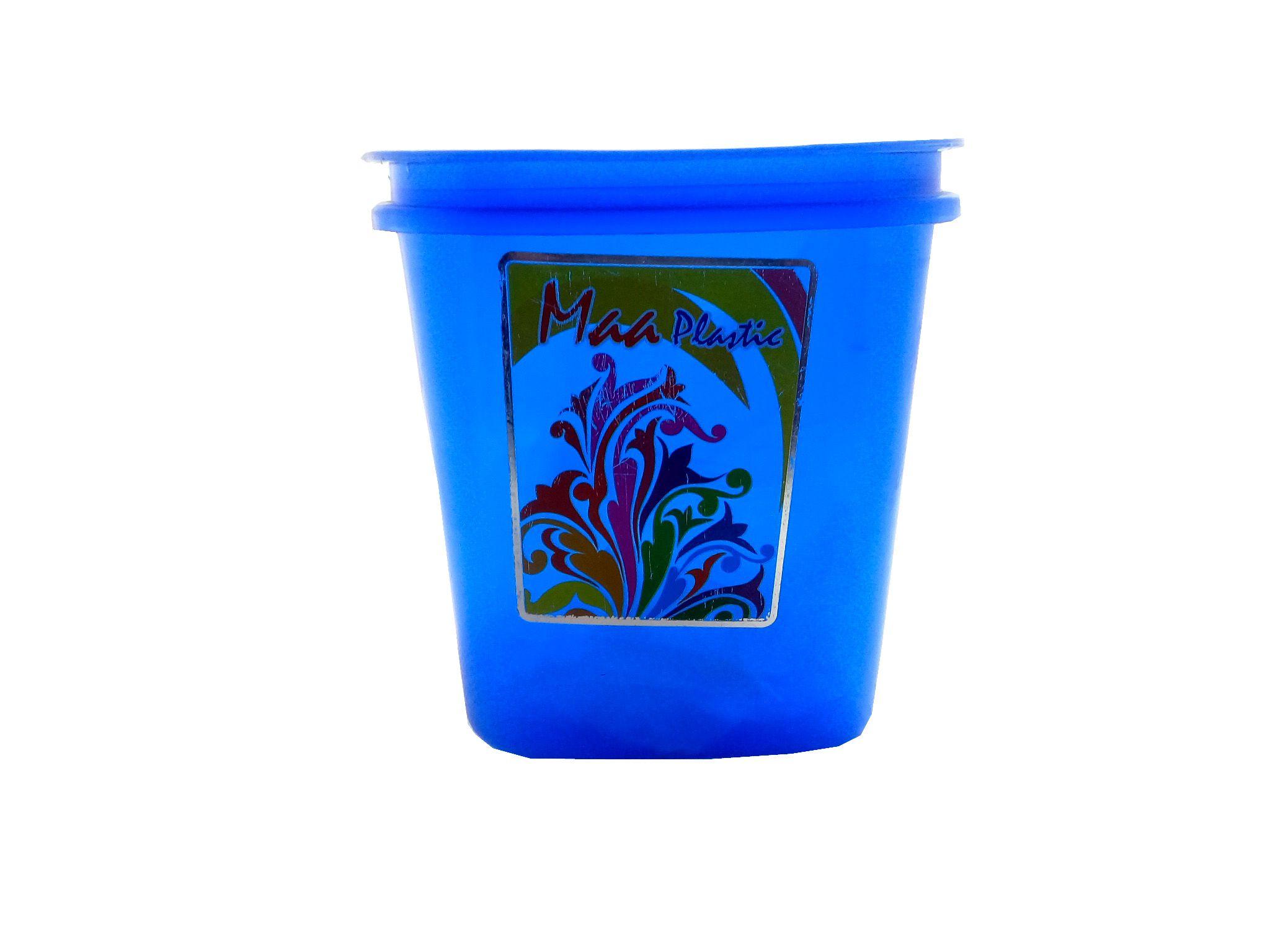 sellersindiya 086 Polyproplene Spice Container Set of 6