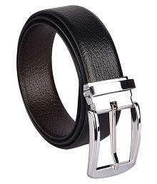 Woodland Scenics Black Faux Leather Formal Belts