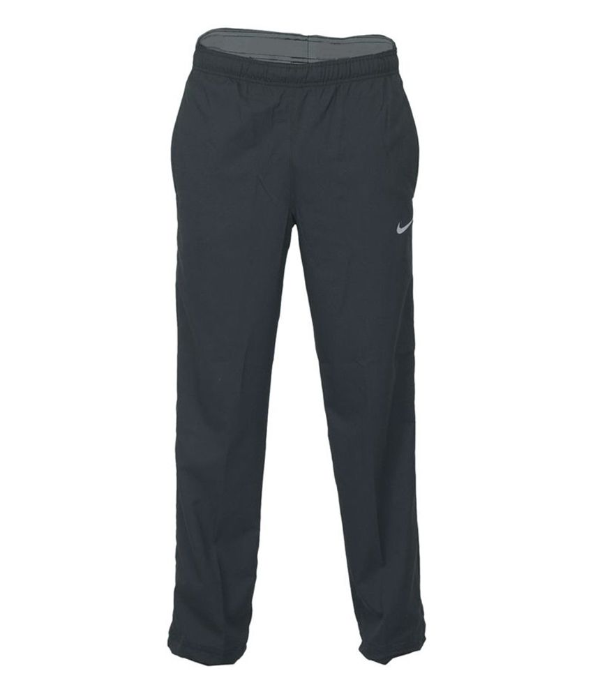 318646cbacf Nike Black Polyester Track Pant for Men  Buy Online at Best Price on  Snapdeal