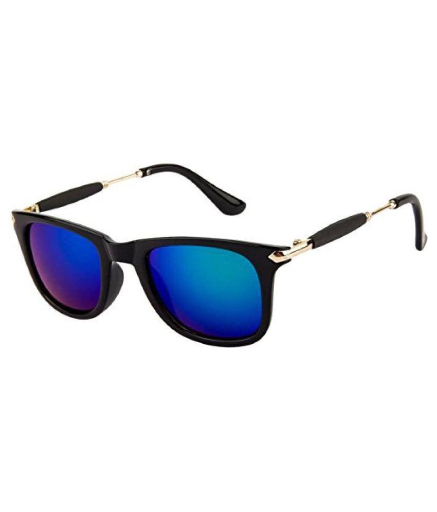 0171892fc2cf Buy Sunglasses Golden Mercury New Fancy Square Goggles at Best Prices in  India - Snapdeal