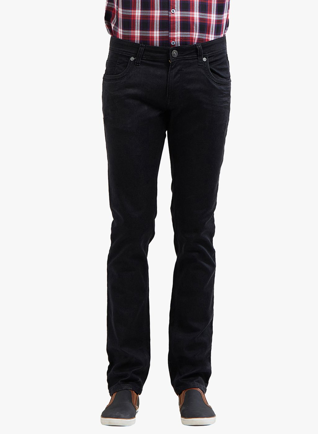 LAWMAN PG3 Black Slim Jeans