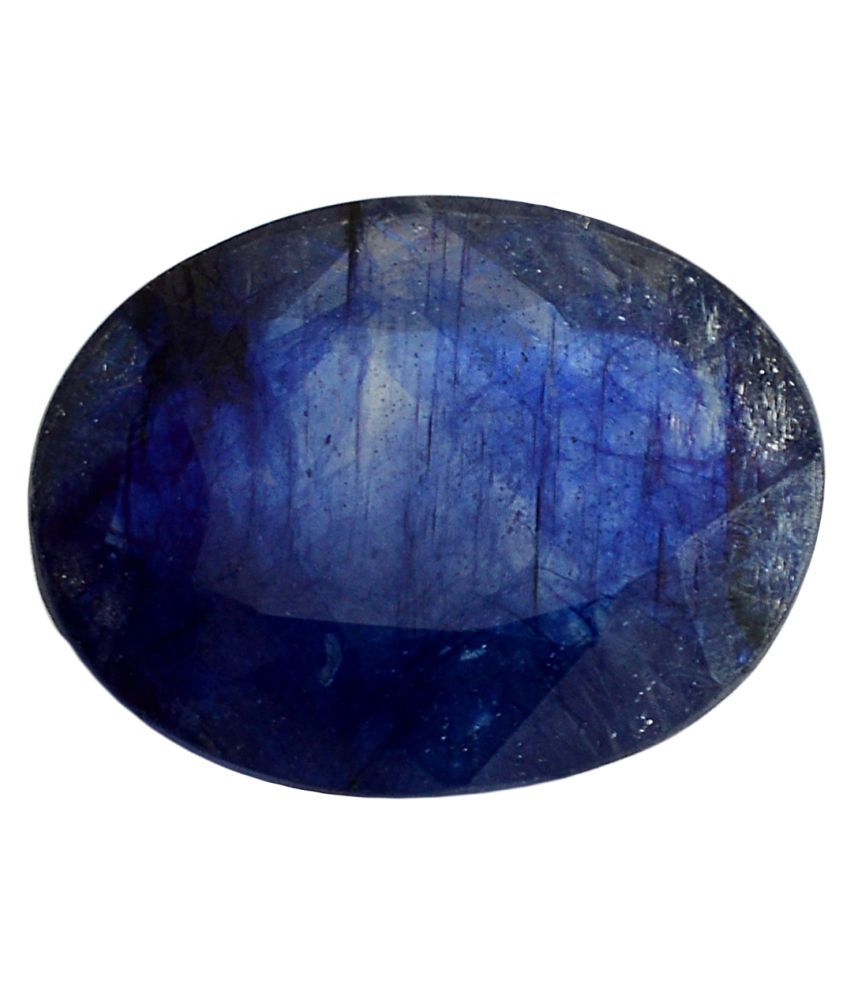 pitliya jewellers 7 -Ratti Self certified Blue Sapphire Precious Gemstone