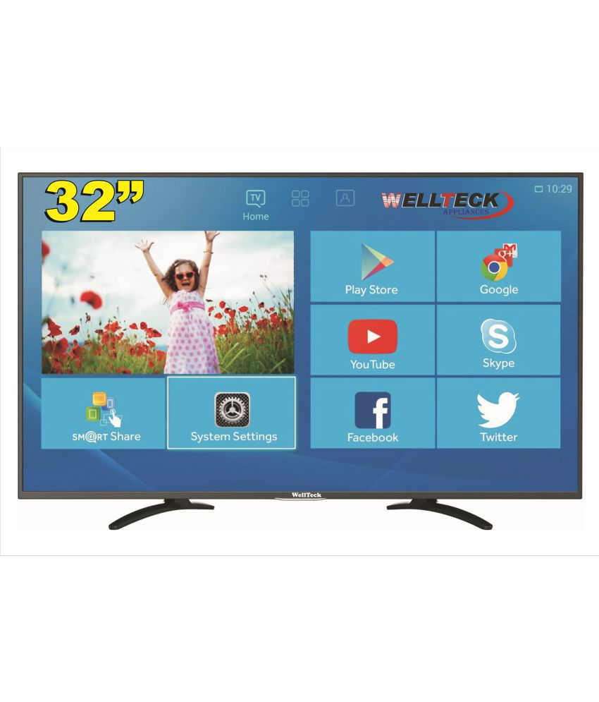 wellteck DG32S1 80 cm ( 32 ) Smart Full HD (FHD) LED Television With 1+1 Year Extended Warranty