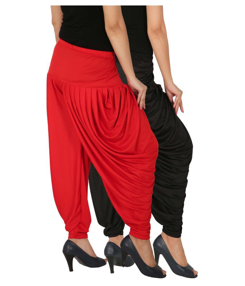Fashion And Freedom Lycra Pack of 2 Dhoti