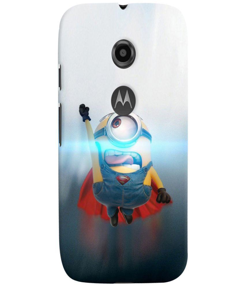 Motorola Moto E2 Printed Cover By Case King
