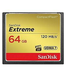 SanDisk Extreme Compact Flash Card 64 GB Extreme mbps