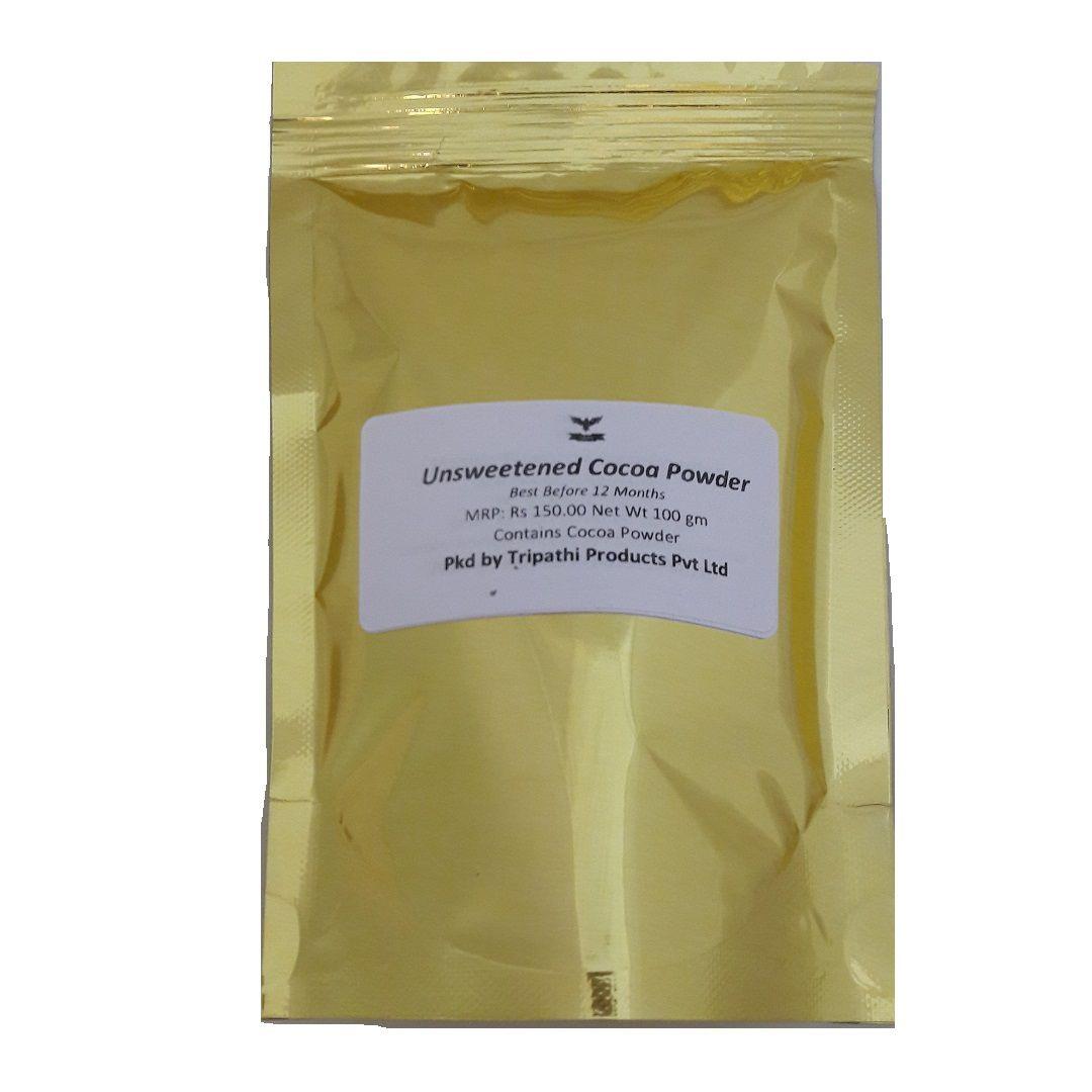 Tripathi Products Dutch Cocoa Powder 100 gm Pack of 2