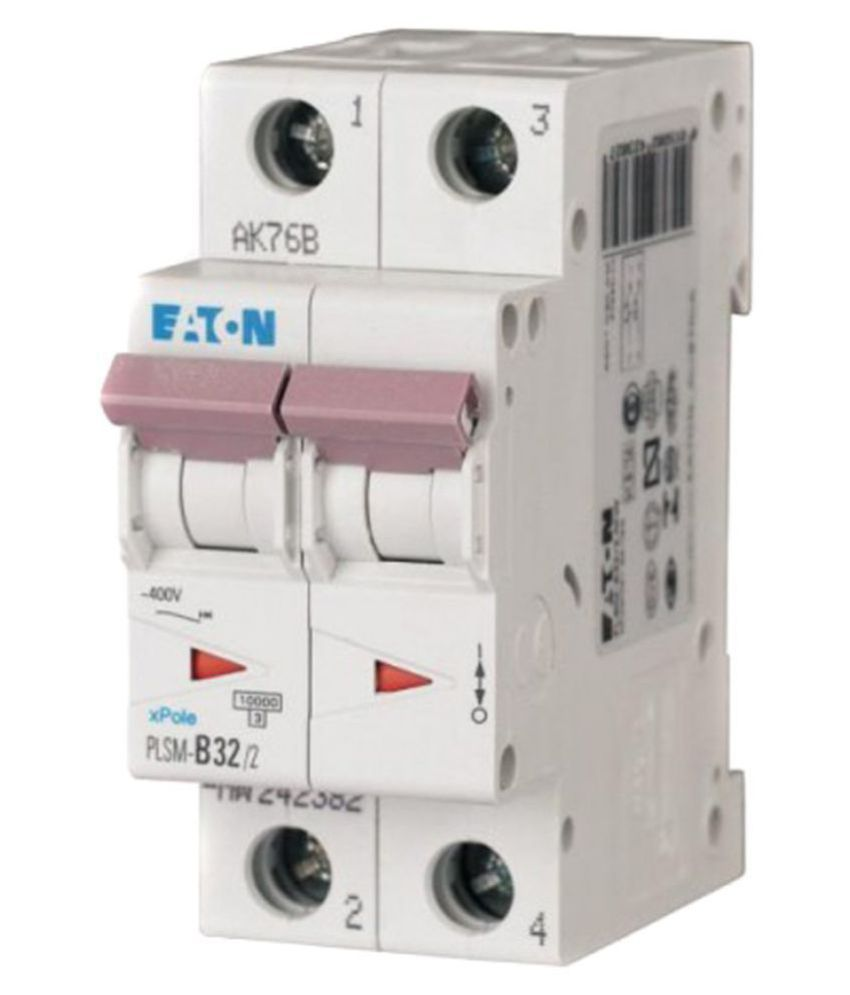 Buy Eaton MCB Two Pole 25 Amp Online at Low Price in India - Snapdeal