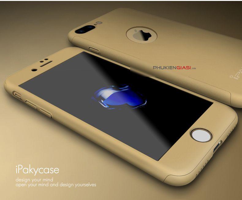 Apple iPhone 4S Bumper Cases ClickAway - Golden with free selfie stick
