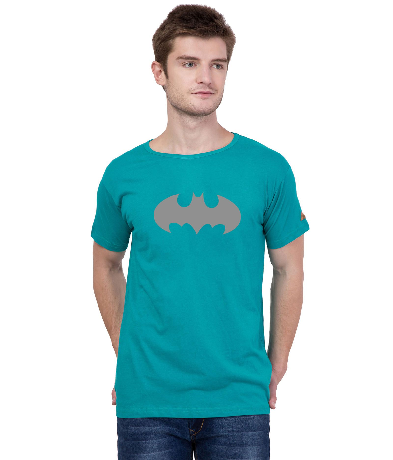 American-Elm Turquoise Round T-Shirt Pack of 1