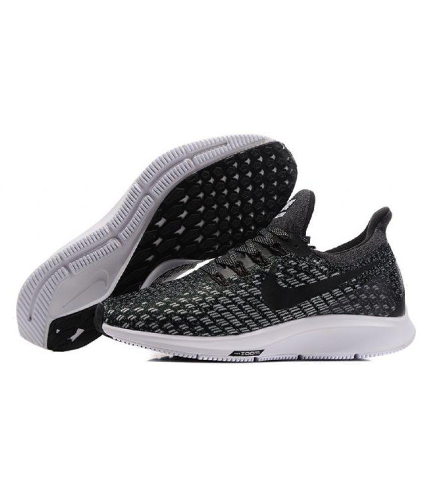 ... Nike Air Zoom Pegasus 35 Gray Running Shoes ...