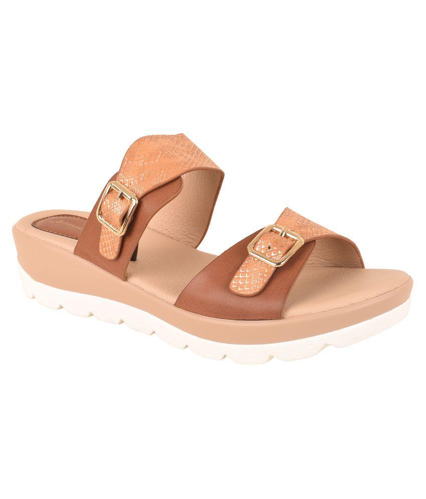 Shoeholic Beige Slides