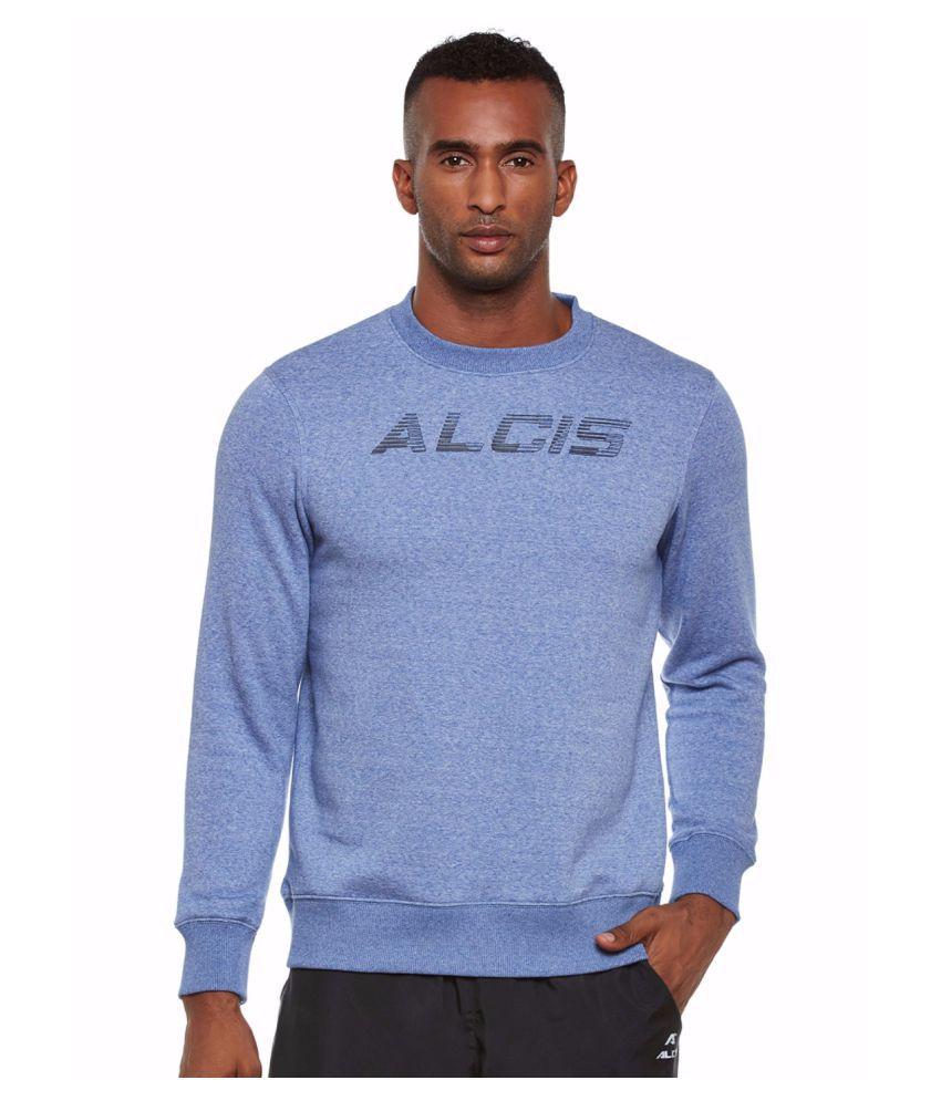 Alcis Men Blue Slounge Sweat