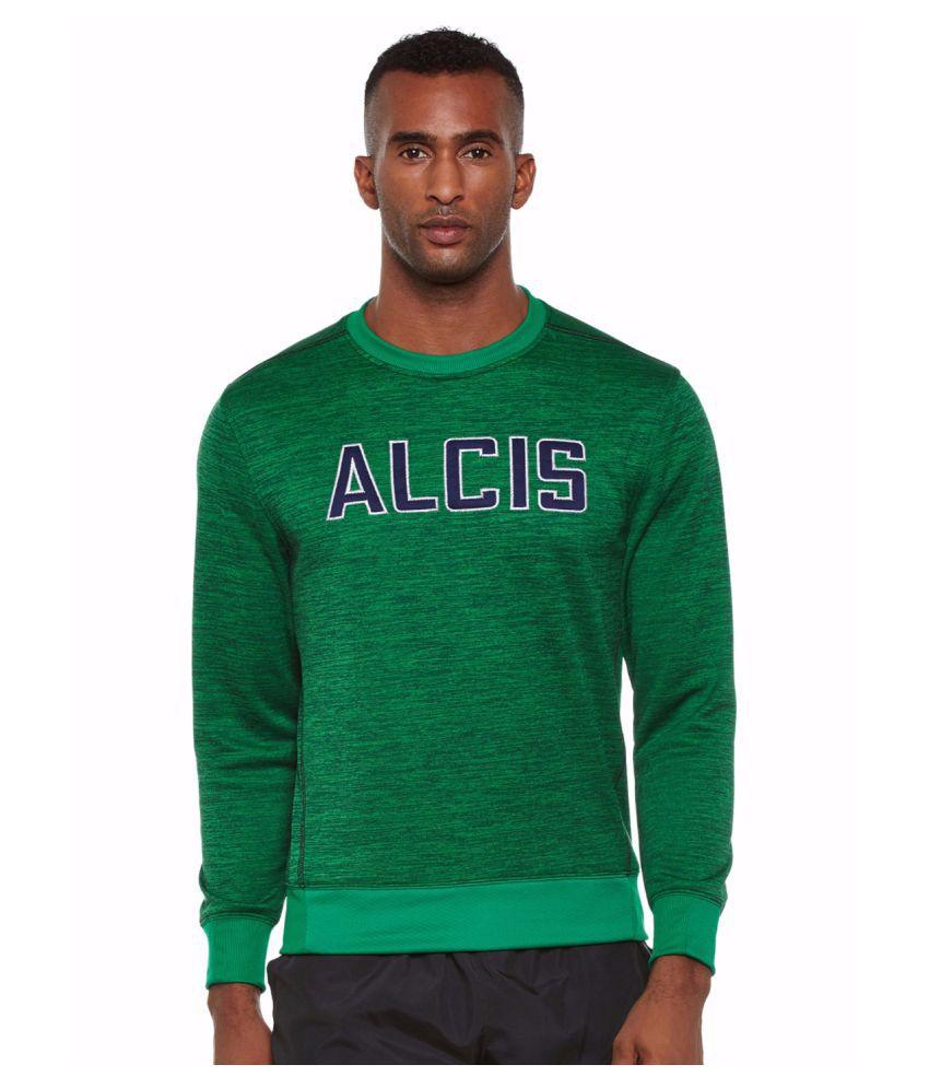 Alcis Men Green Slounge Sweat