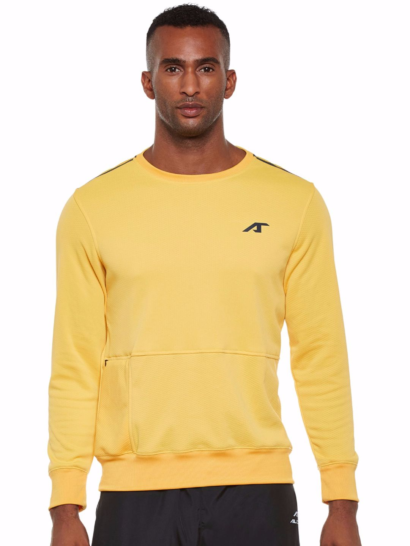 Alcis Men Yellow Train Sweat