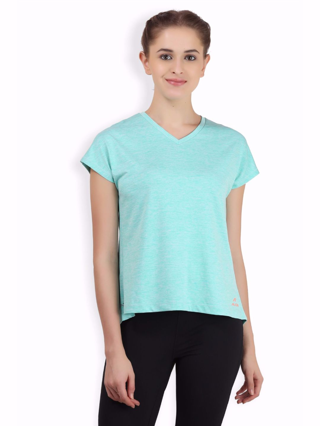 Alcis Women Green Love Top