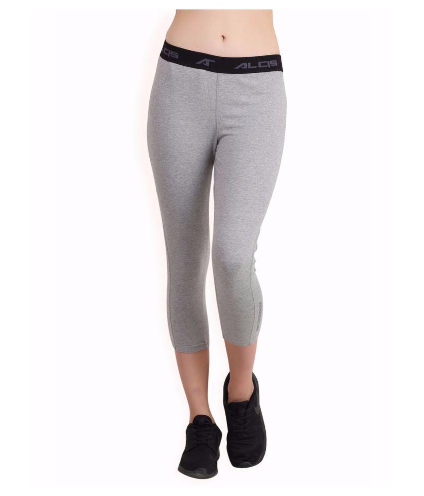 Alcis Women Grey Core Fit Pants