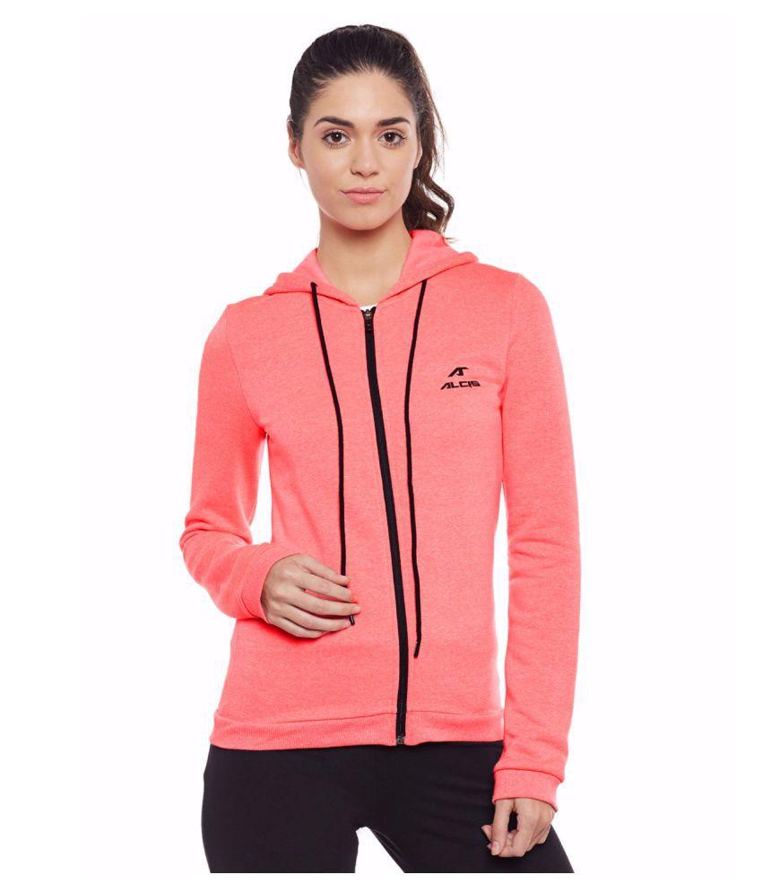 Alcis Women Pink Slounge Jacket