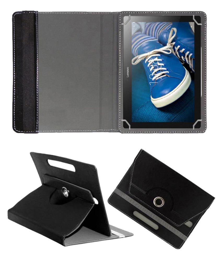 Lenovo Tab 3 10 Flip Cover By Fastway Black