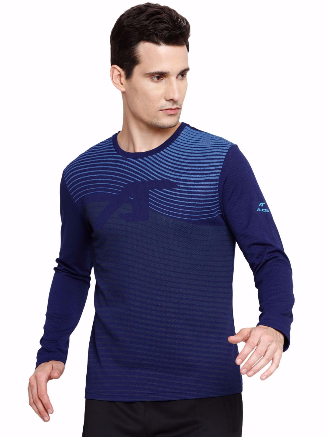 Alcis Men Navy Court Sweat