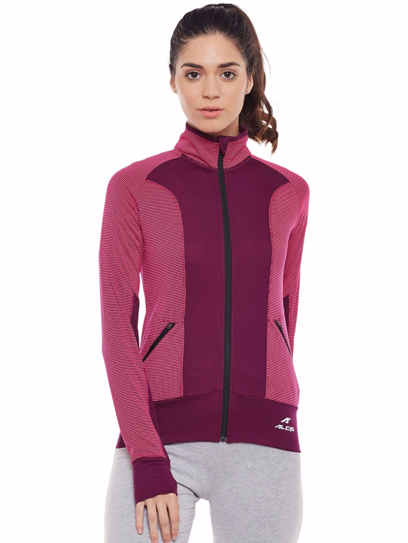 Alcis Women Purple Run Pro Jacket