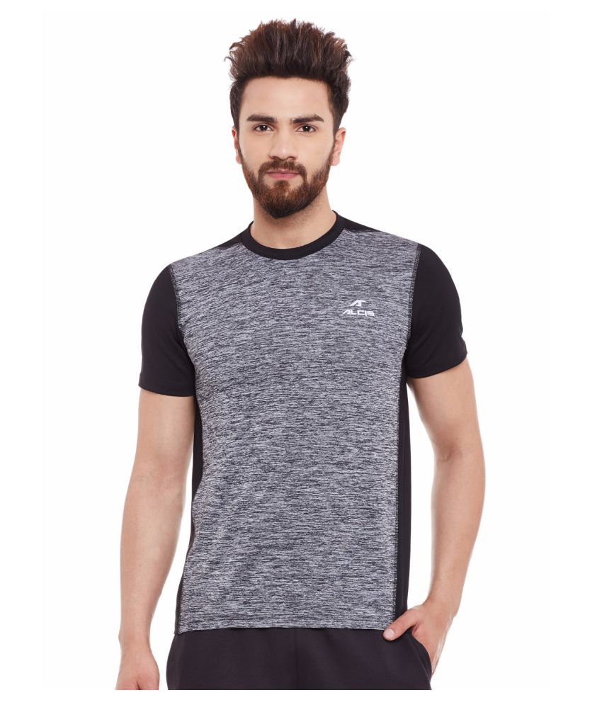 Alcis Mens Black Tee