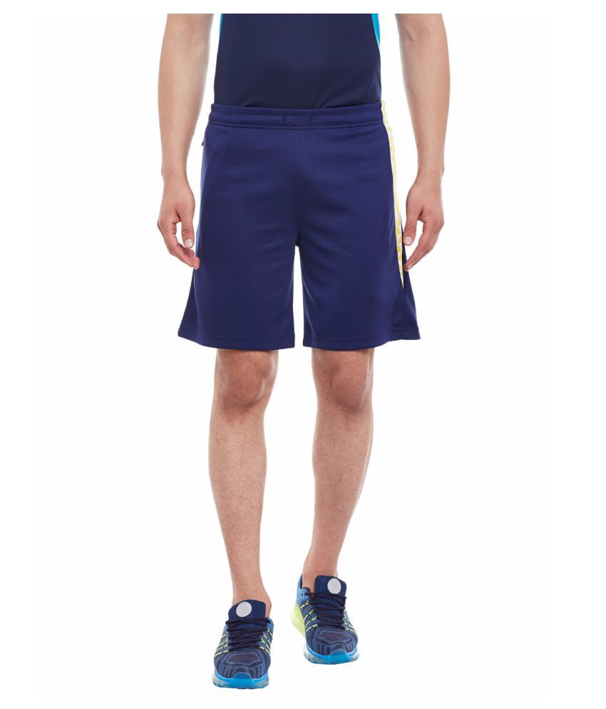 Alcis Mens Blue Shorts