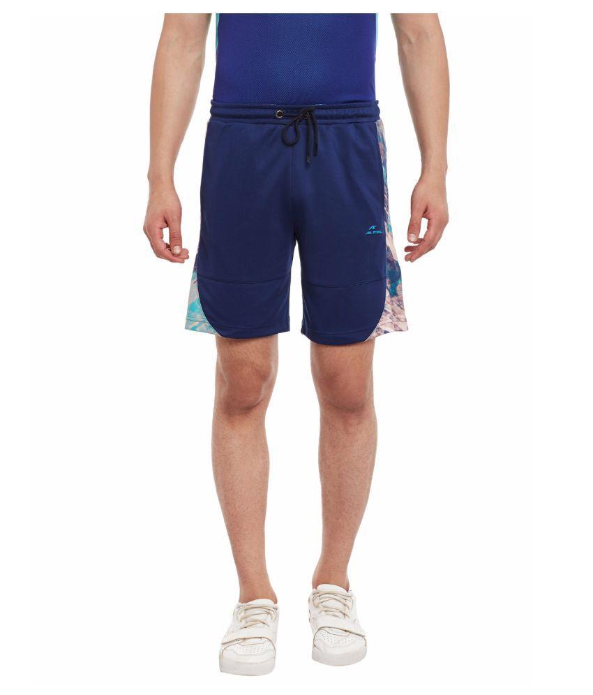 Alcis Mens Blue Shorts