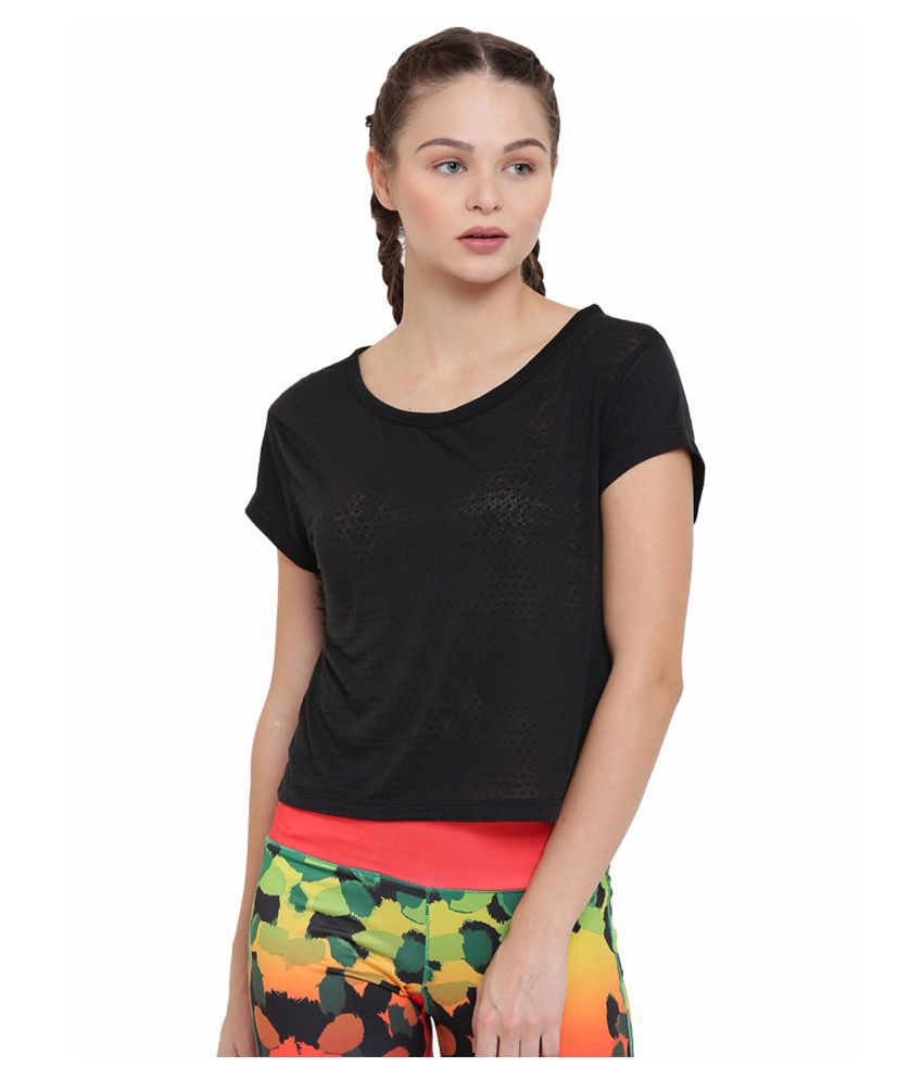 Alcis Womens Black Top