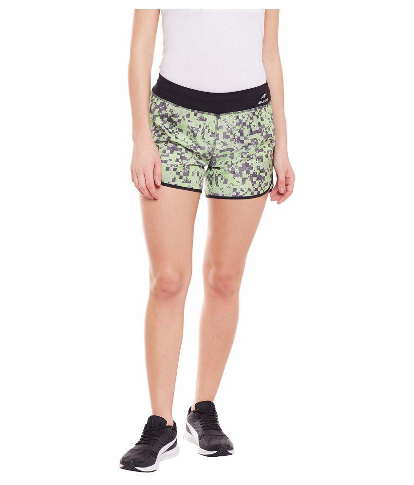 Alcis Womens Green Shorts