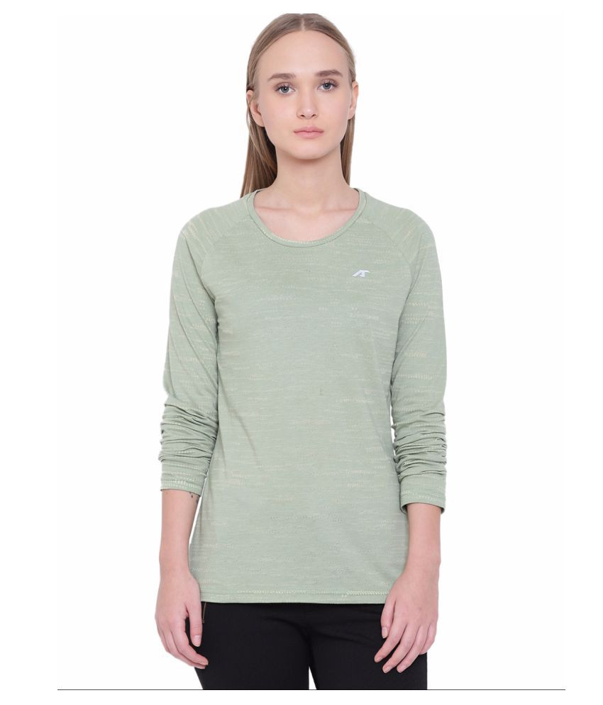 Alcis Womens Green Tee