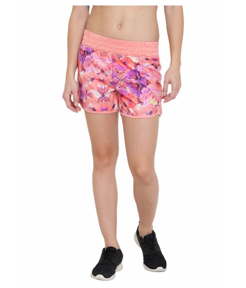 Alcis Womens Pink Shorts