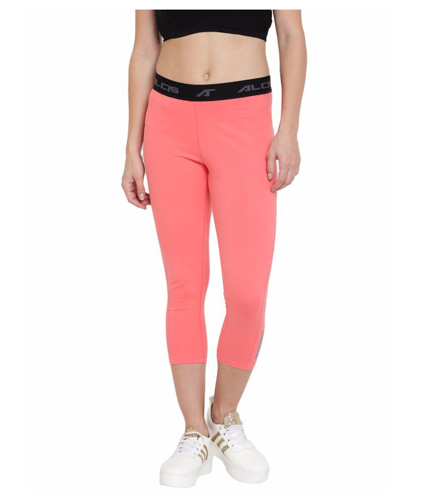 Alcis Womens Pink Trackpant