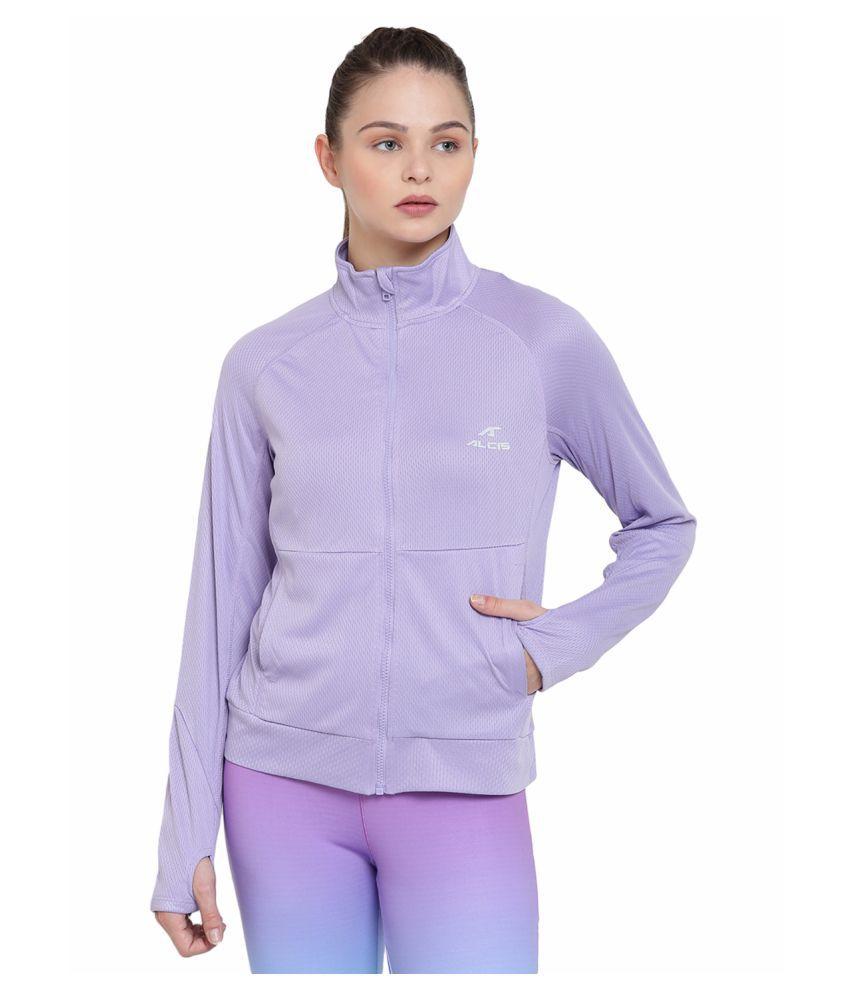 Alcis Womens Purple Jacket