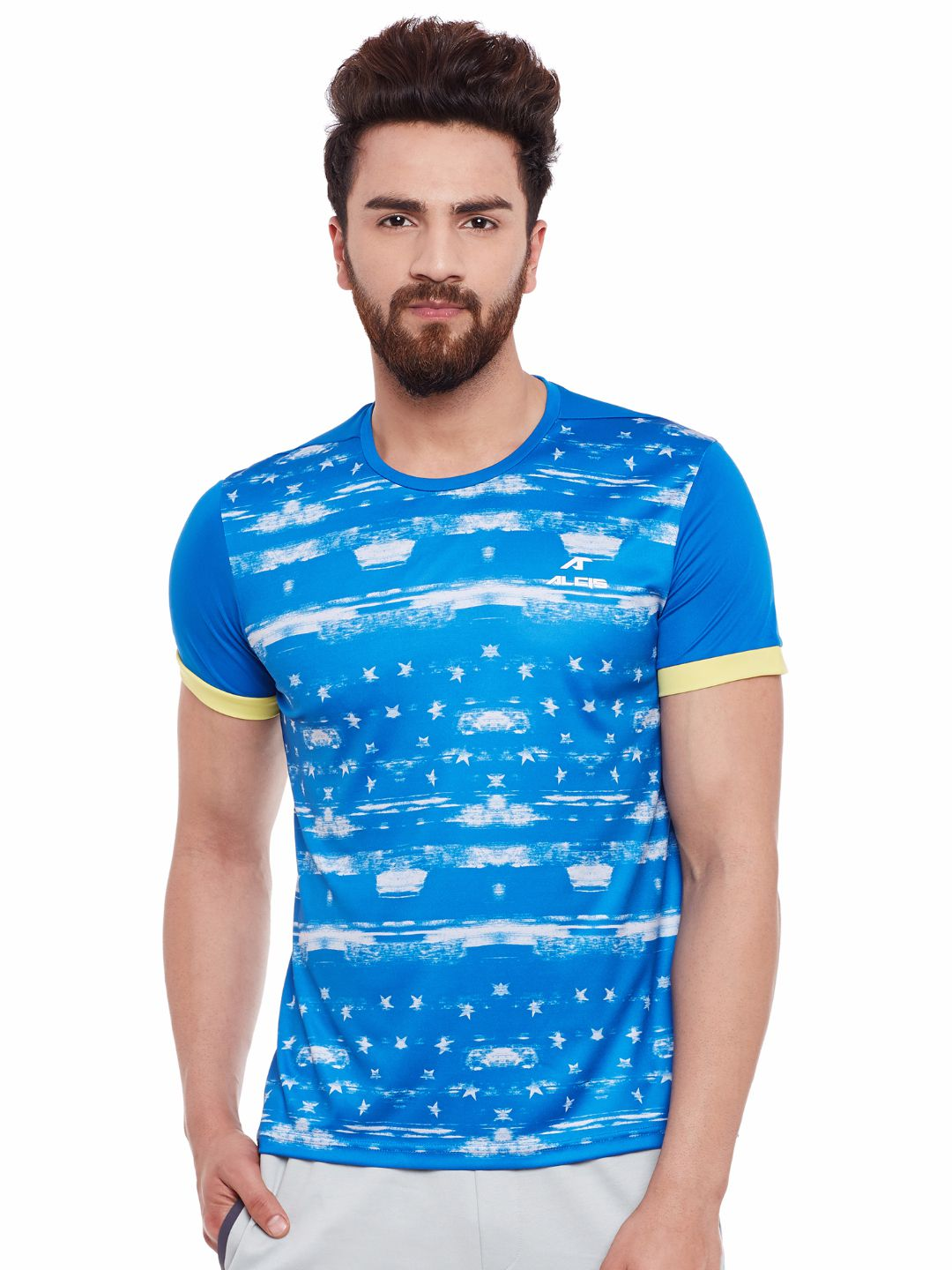 Alcis Mens Blue Tee