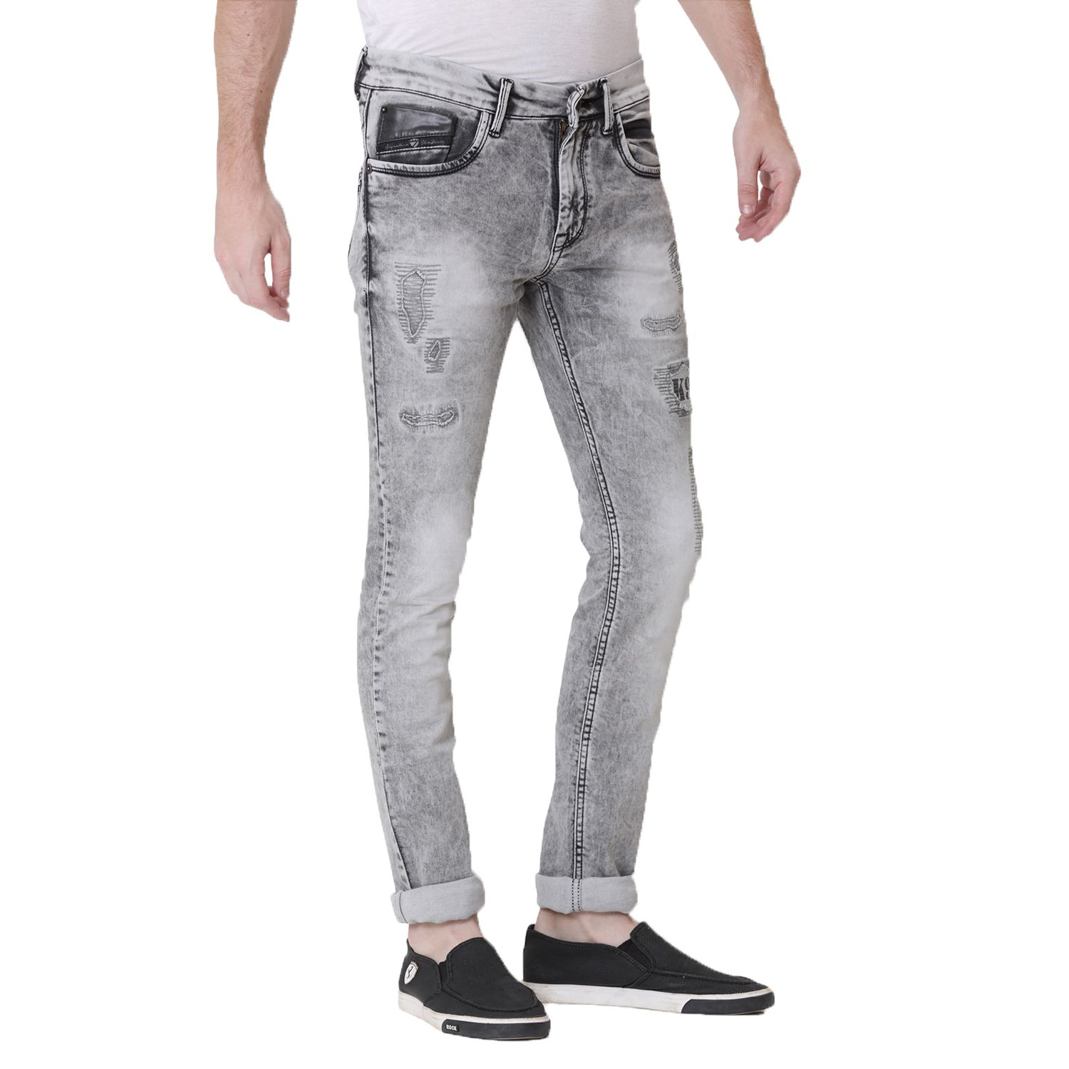 KOZZAK Grey Slim Jeans