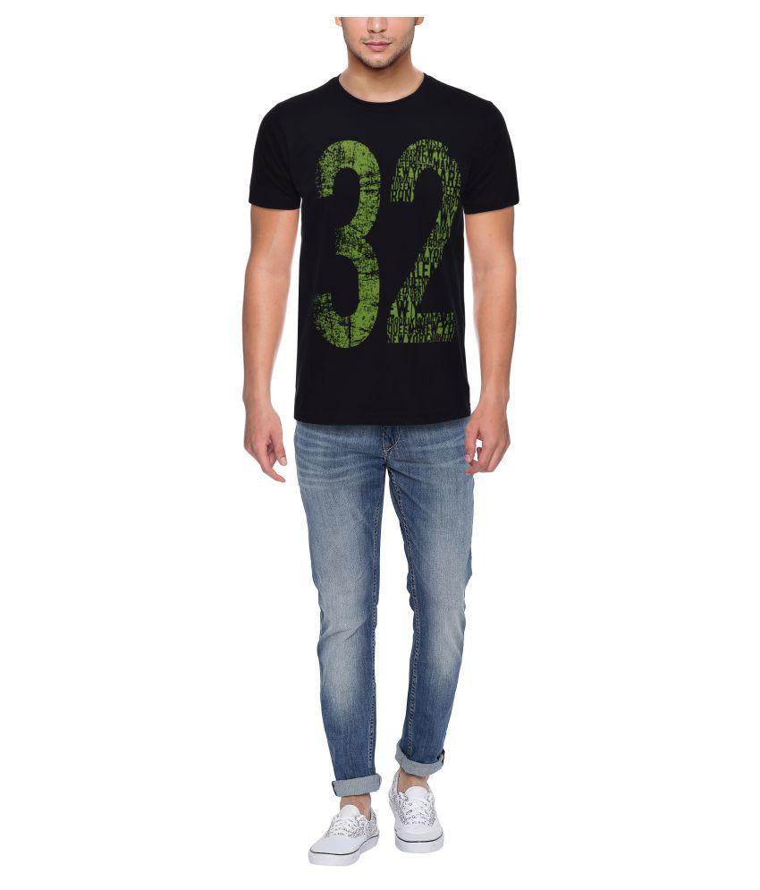 PFERD Black Round T-Shirt