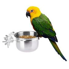Pets Empire Bird Feeding Bowl With Clamp 300ml