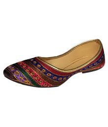 sdshopping Multi Color Ethnic Footwear