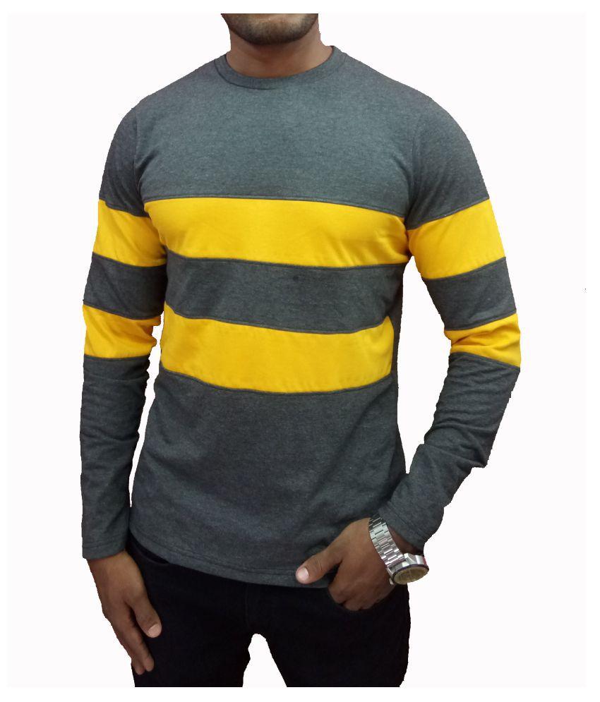 Trenviron Yellow Round T-Shirt