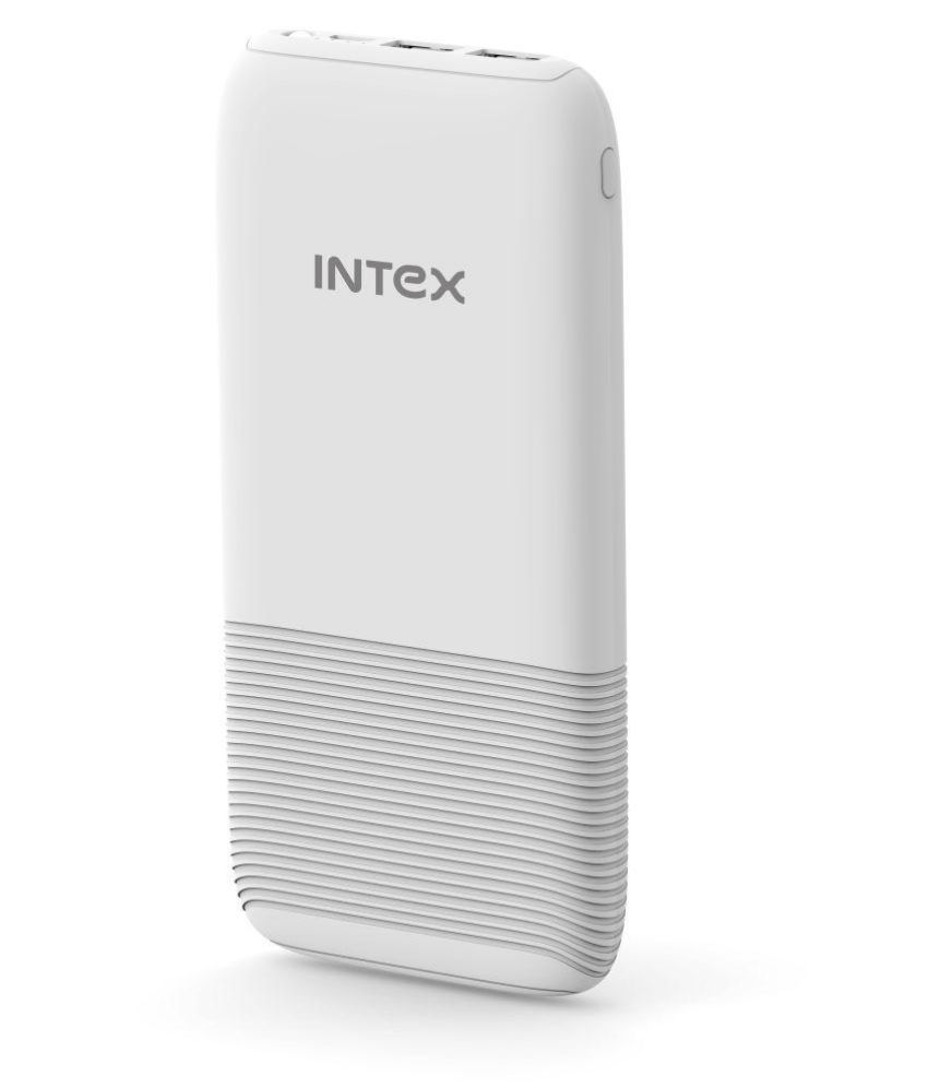 Intex IT-PB12K Poly-01 12000 -mAh Li-Polymer Power Bank White