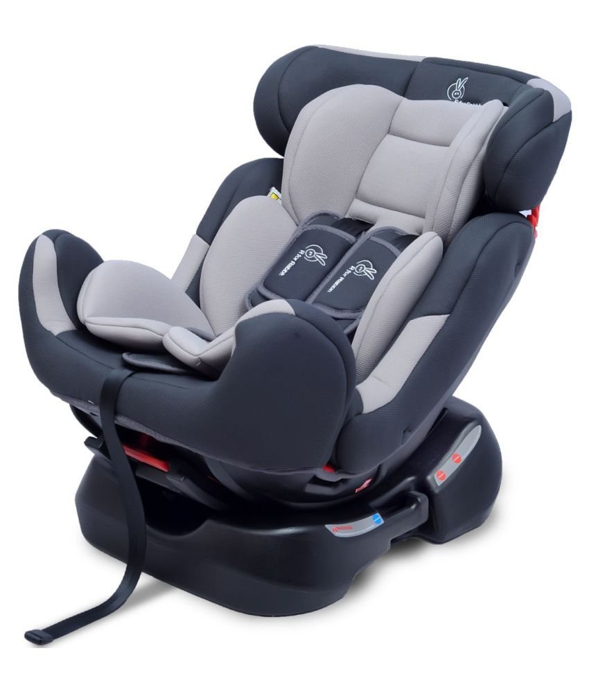 Jack N Jill Grand Grey Convertible Baby Car Seat For 0 7 Years Age