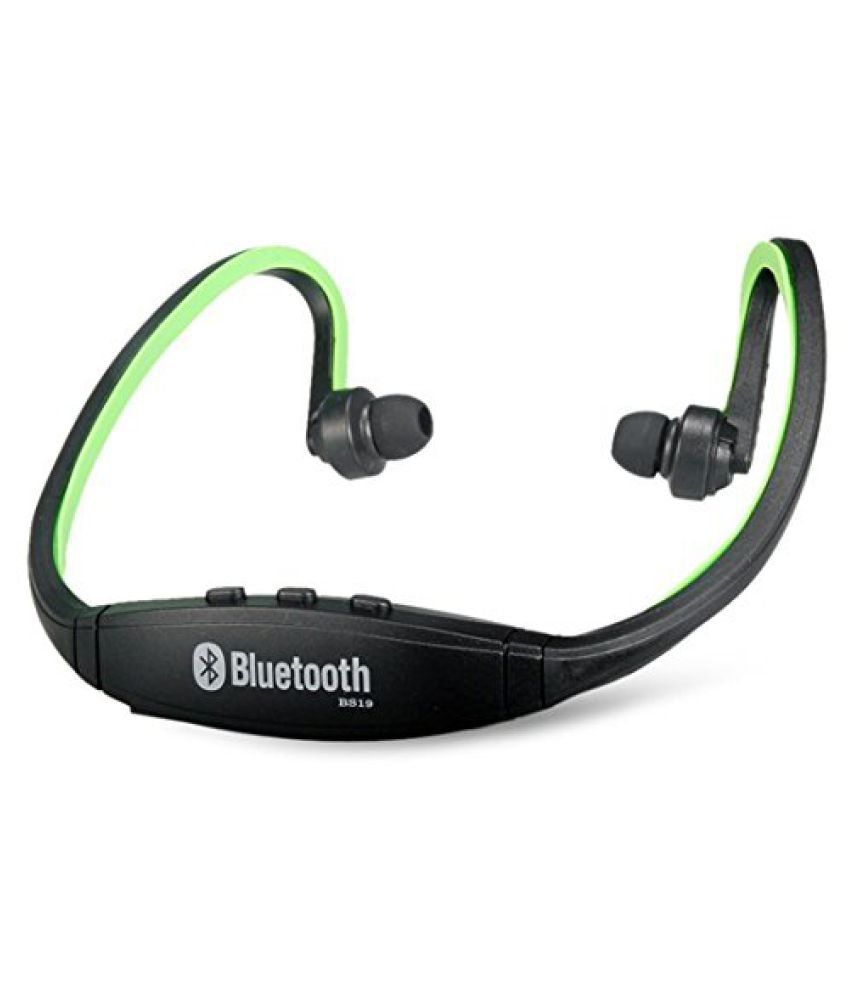 Xstar For Micromax Q336 Bluetooth Headset Green Bluetooth Headsets Online At Low Prices Snapdeal India