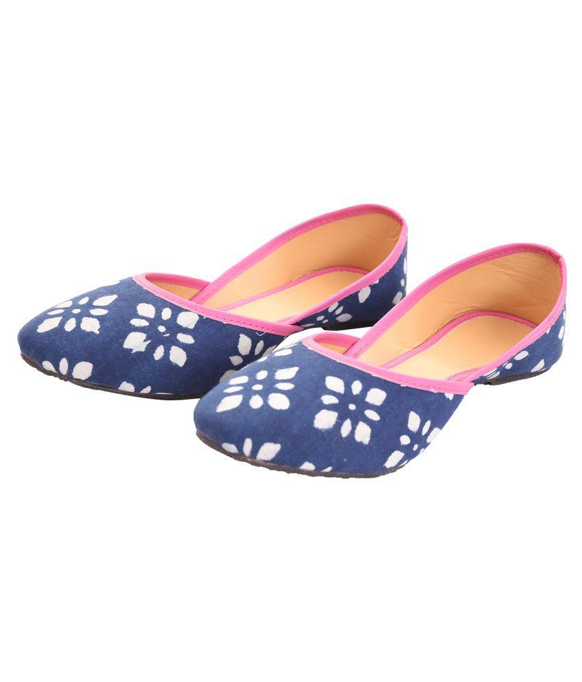 Apratim Multi Color Ethnic Footwear
