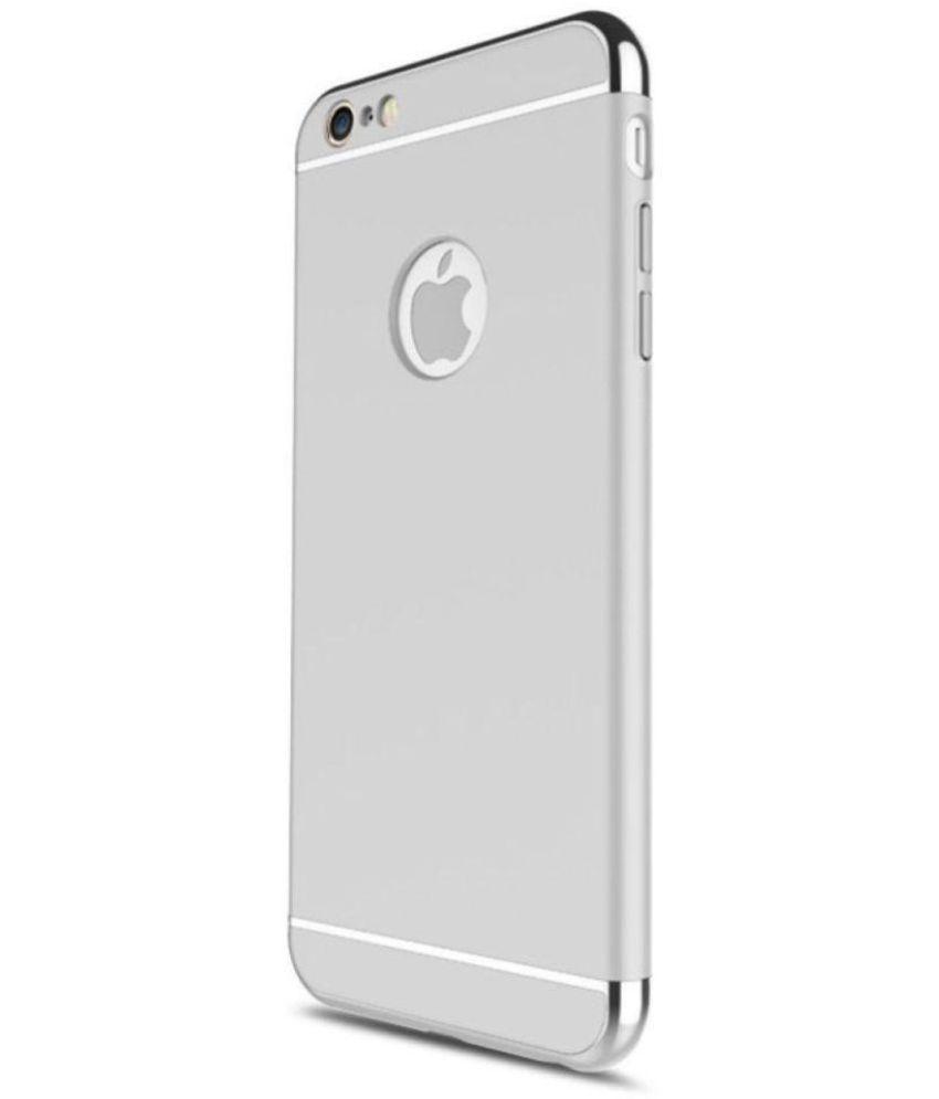 Oppo F3 plus Plain Cases BBR - Silver