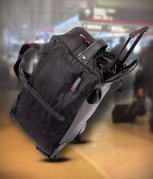 Bleu Black Duffle Bag