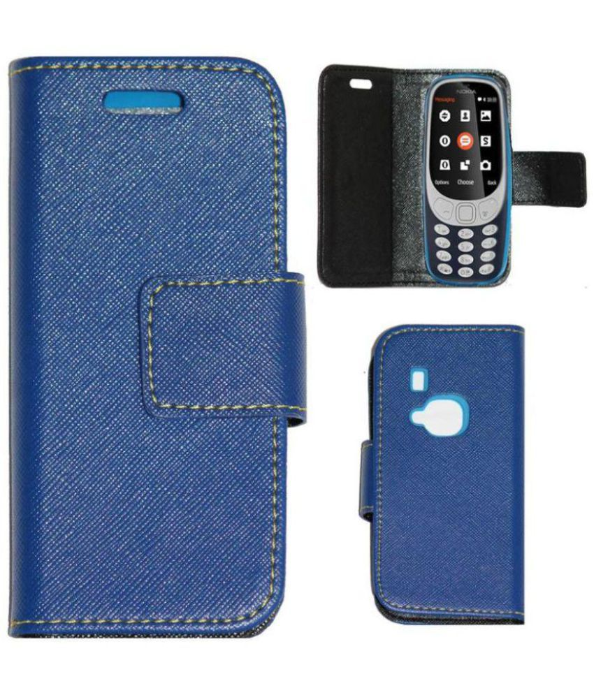 Nokia 3310 2017 Flip Cover by Gizmofreaks - Blue