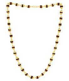 Dare by Voylla Religious Faux Rudraksha Studded Chain